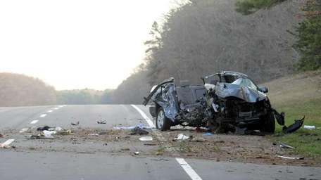 Two teens were killed in a crash Saturday