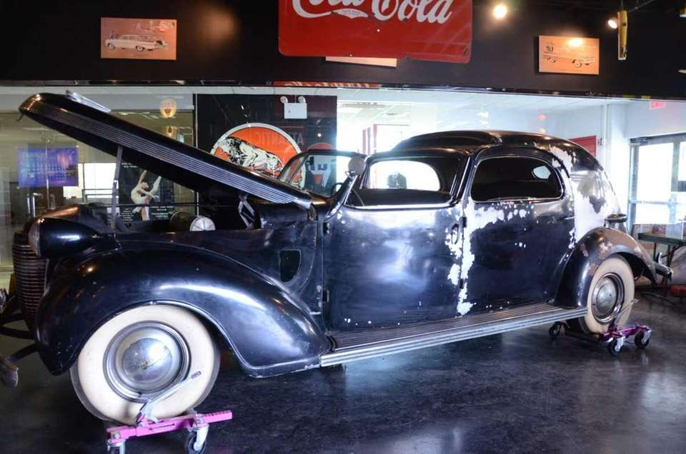 The one-of-a-kind 1937 Chrysler Imperial C-15 Town Car,