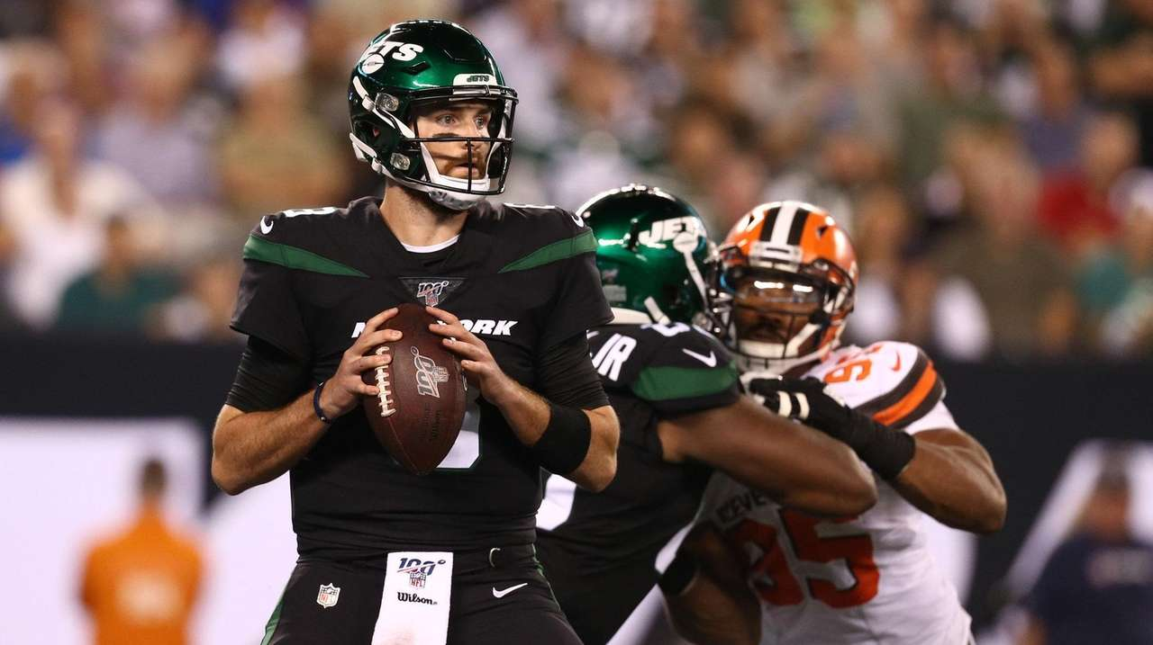 online store 5181d 221af Jets QB Luke Falk has track record of beating the odds | Newsday
