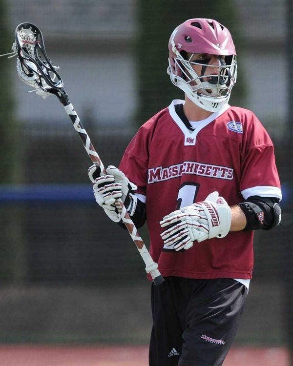 University of Massachusetts attackman Will Manny looks to