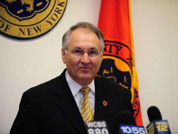 Nassau County Comptroller George Maragos. (May 18, 2011)