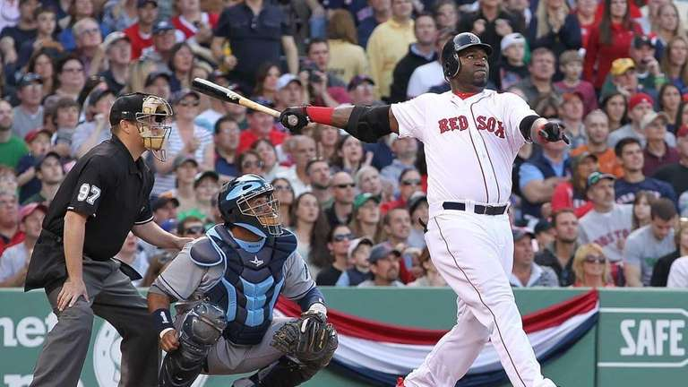 David Ortiz connects for a two-run home run