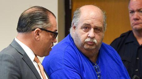 Robert Garofalo, right, appears in Judge William Condon's