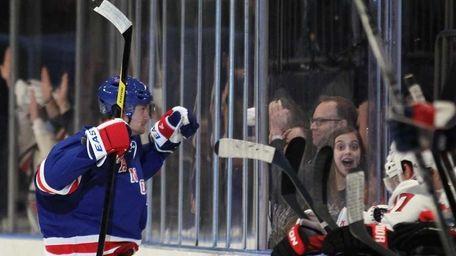 Anton Stralman #32 of the New York Rangers