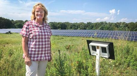 Sister Karen Burke is the coordinator of land