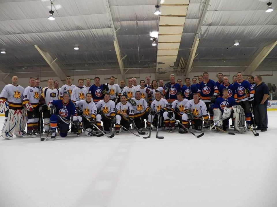 Former New York Islanders legends faced off against