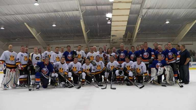 Former New York Islanders legends faced off against