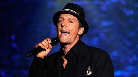 Jason Mraz on stage during the 40th Annual
