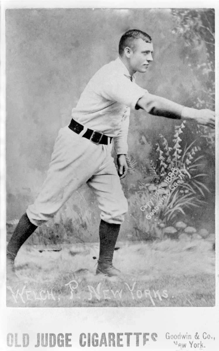 MICKEY WELCH, RHP Career record: 307-210    Hall
