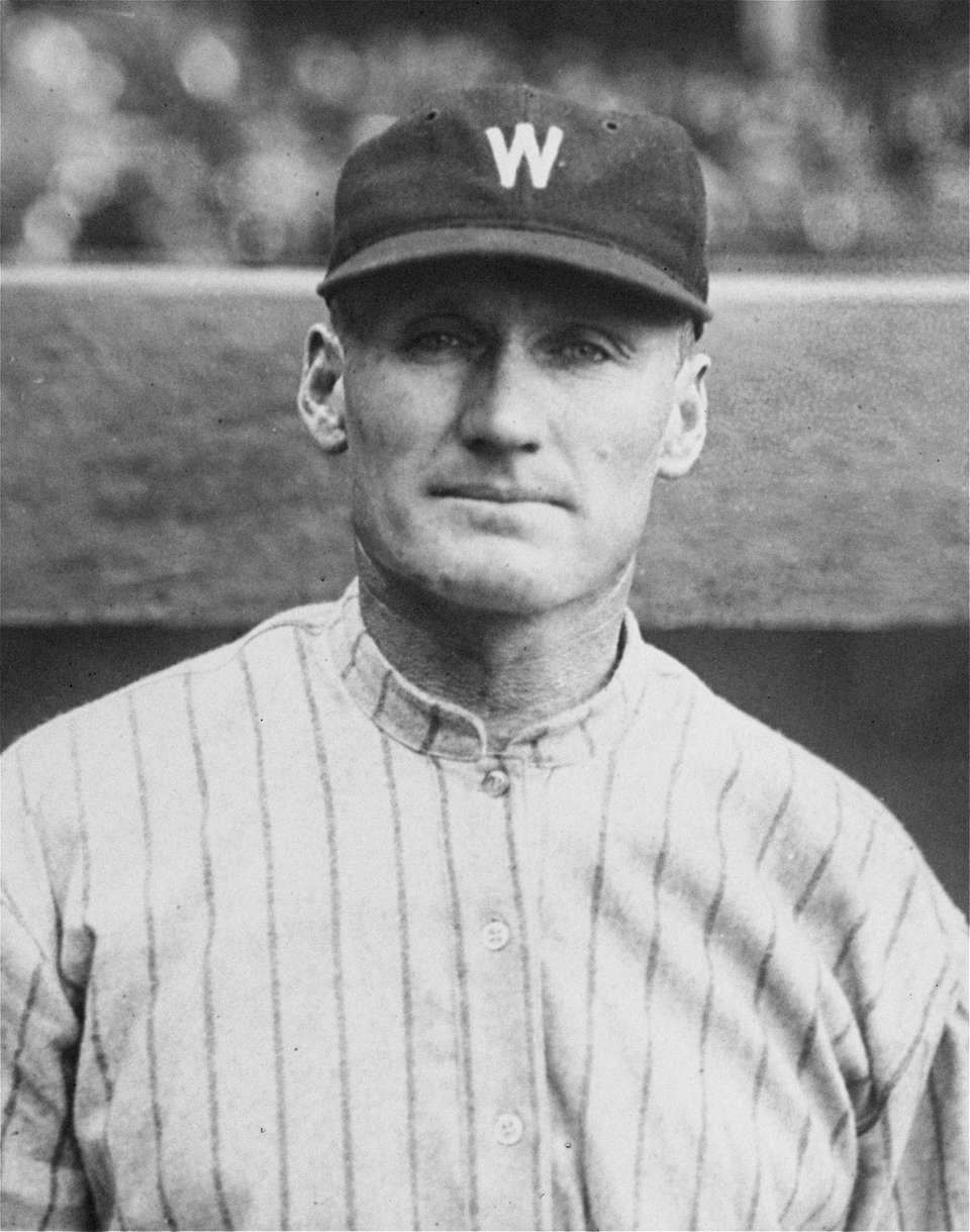 WALTER JOHNSON, RHP Career record: 417-279 || Hall