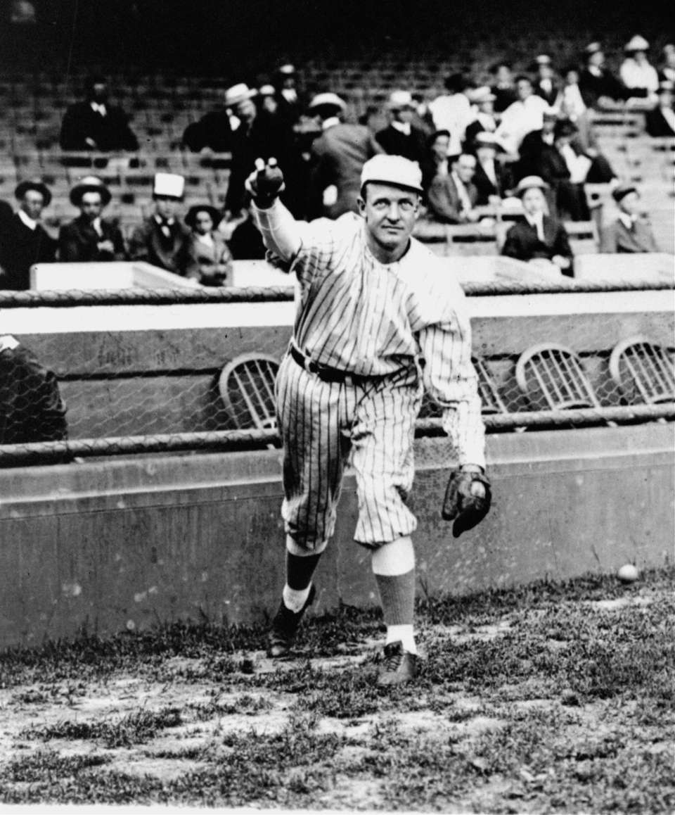 CHRISTY MATHEWSON, RHP Career record: 373-188 || Hall