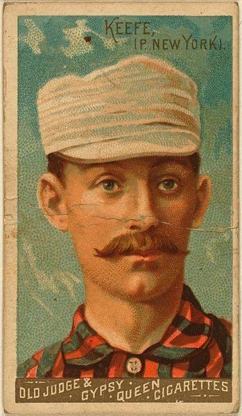 TIM KEEFE, RHP Career record: 342-225    Hall