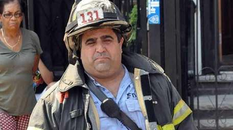 FDNY Lt. Rich Nappi, seen in a photo
