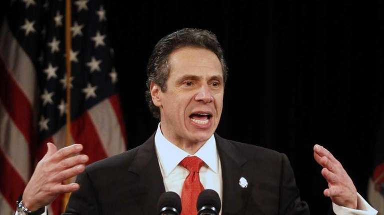 Gov. Andrew Cuomo supported campaign finance reform in