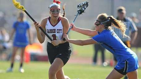 Garden City High School midfielder #1 Alexandra Bruno,