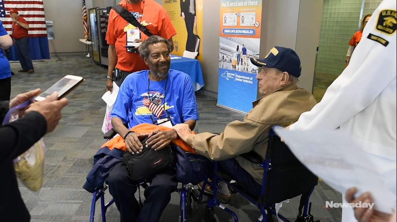 Honor Flight Long Island takes aging veterans on