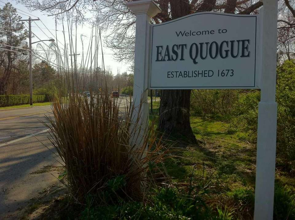 East Quogue is a hamlet with a year-round