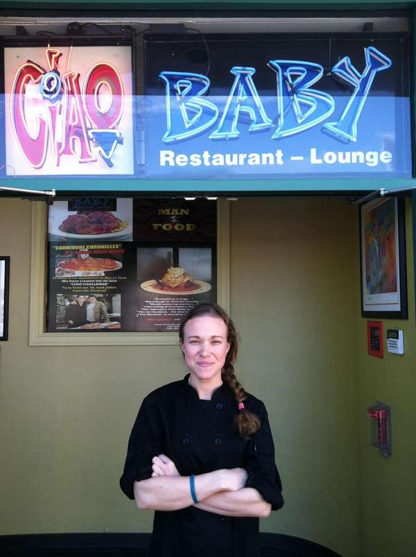 Heather West at Ciao Baby in Commack