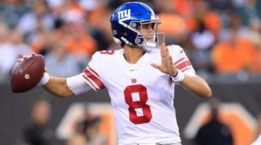 Daniel Jones was selected by the Giants with