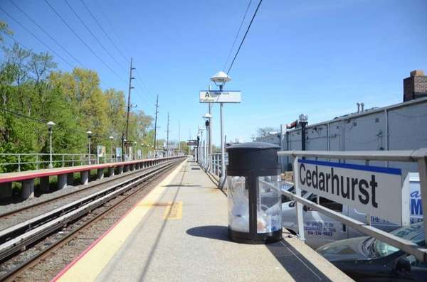The Cedarhurst Long Island Rail Road station is