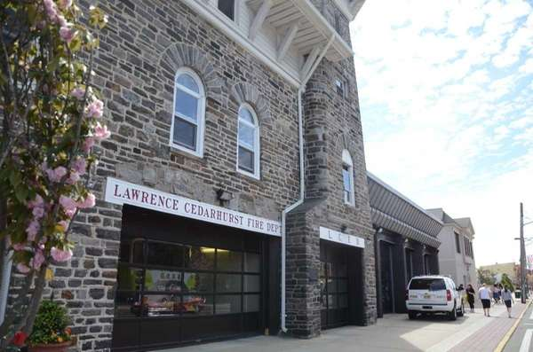 Lawrence-Cedarhurst Fire Department, located at the corner of