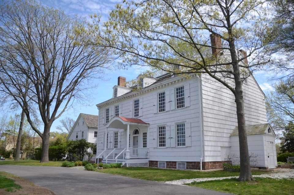 Rock Hall, a historical colonial house museum in
