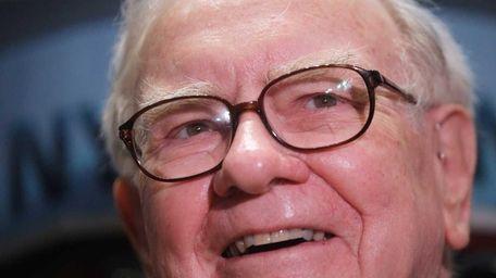 Berkshire Hathaway chairman and chief executive Warren Buffett