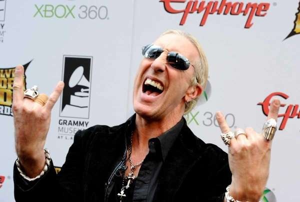 Musician Dee Snider arrives at the 2012 Revolver