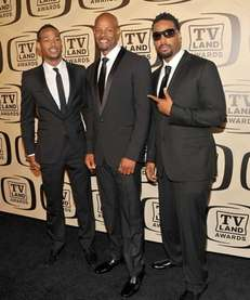 From left, Actors Marlon Wayans, Keenen Ivory Wayans