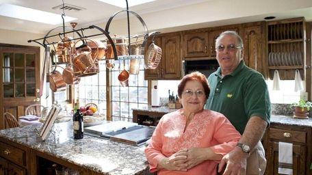 Glen Cove residents Mark and Leti Deutsch inside