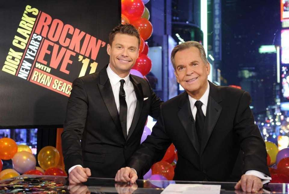 Dick Clark and Ryan Seacrest celebrated 40 years
