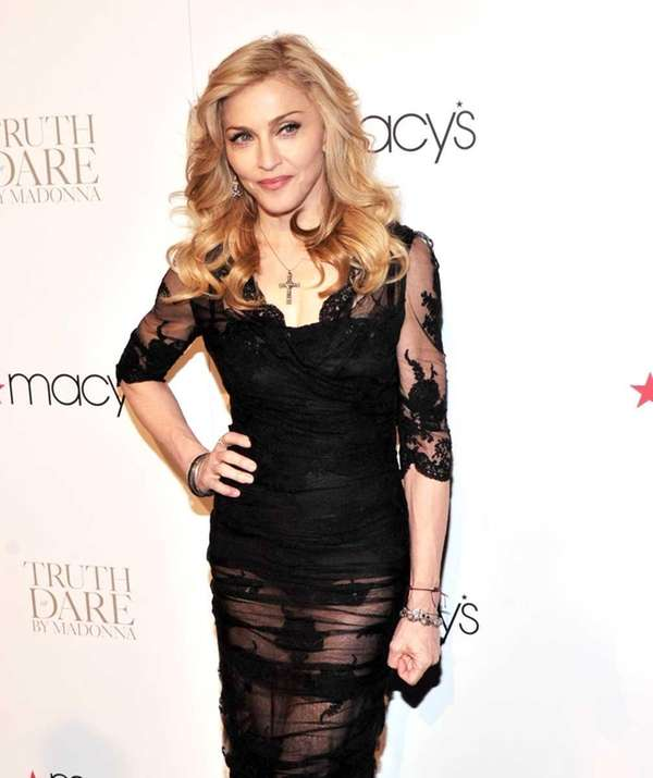 "Singer Madonna launches her signature fragrance ""Truth Or"