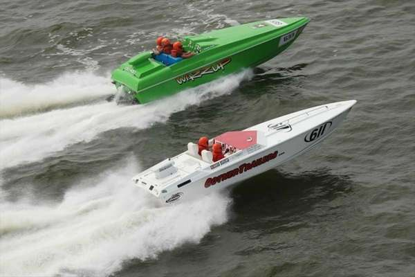 Two boats in CLASS VI, the entry level