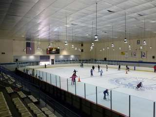 The Ice Arena in Long Beach. (April 15,