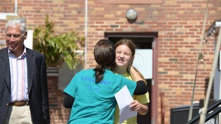 Olivia Macchio, 12, of Garden City, told her