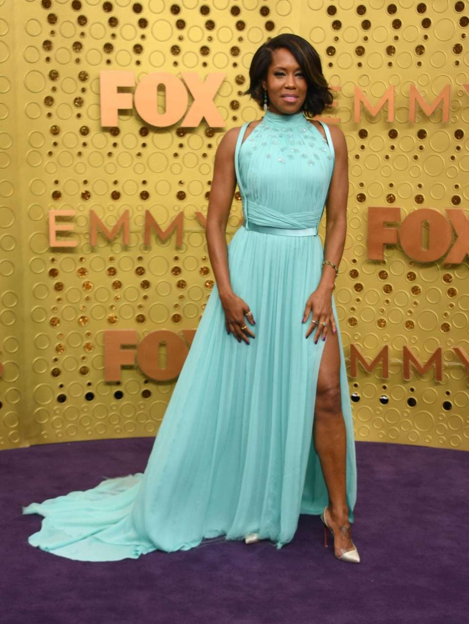 US actress Regina King arrives for the 71st