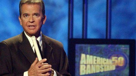In April 2002, Dick Clark, 72 at the