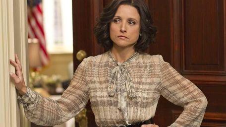 """Julia Louis-Dreyfus as Selina Meyer in """"Veep"""" Nominated:"""