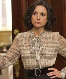 "Julia Louis-Dreyfus as Selina Meyer in ""Veep"" Nominated:"