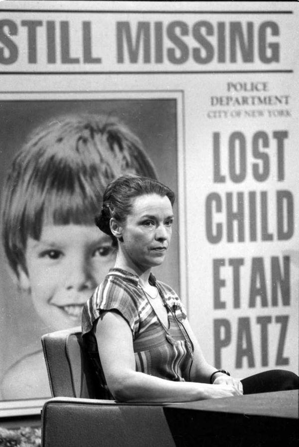 Julie Patz, mother of Etan Patz, speaks on