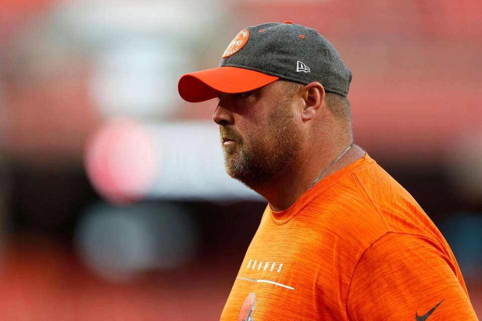 Head coach Freddie Kitchens of the Cleveland Browns