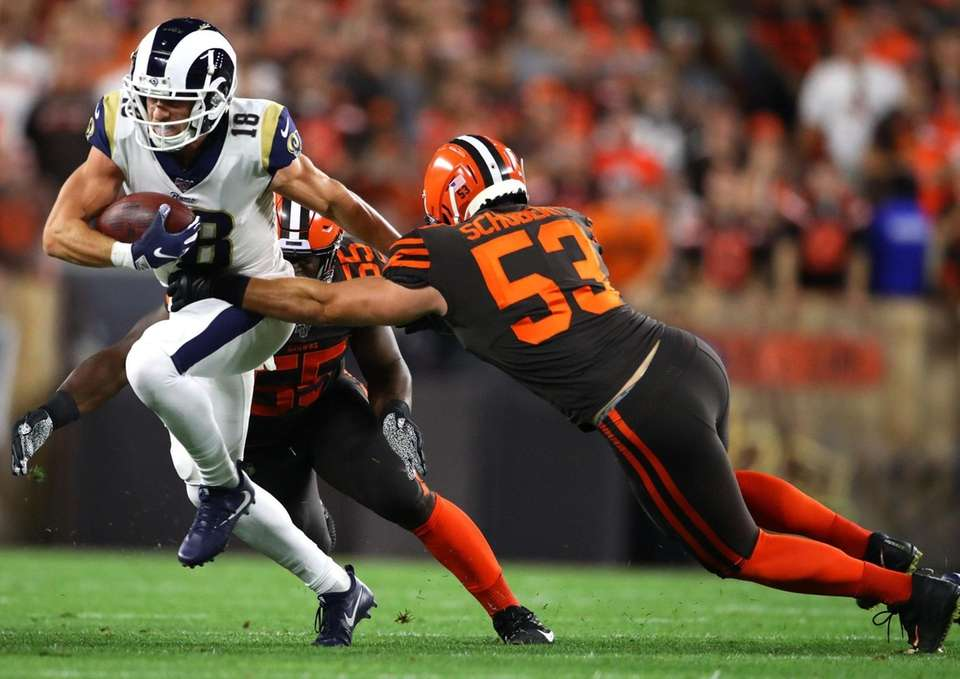 Wide receiver Cooper Kupp of the Los Angeles