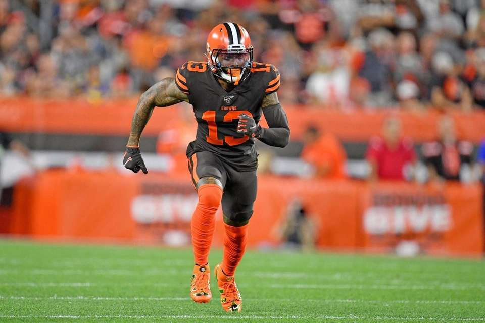 Wide receiver Odell Beckham of the Cleveland Browns