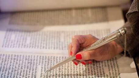 Learning Hebrew and reading the Torah is one