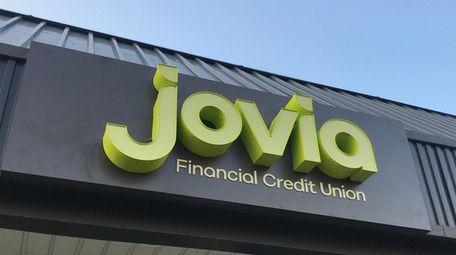 Jovia Financial Credit Union displays its new brand