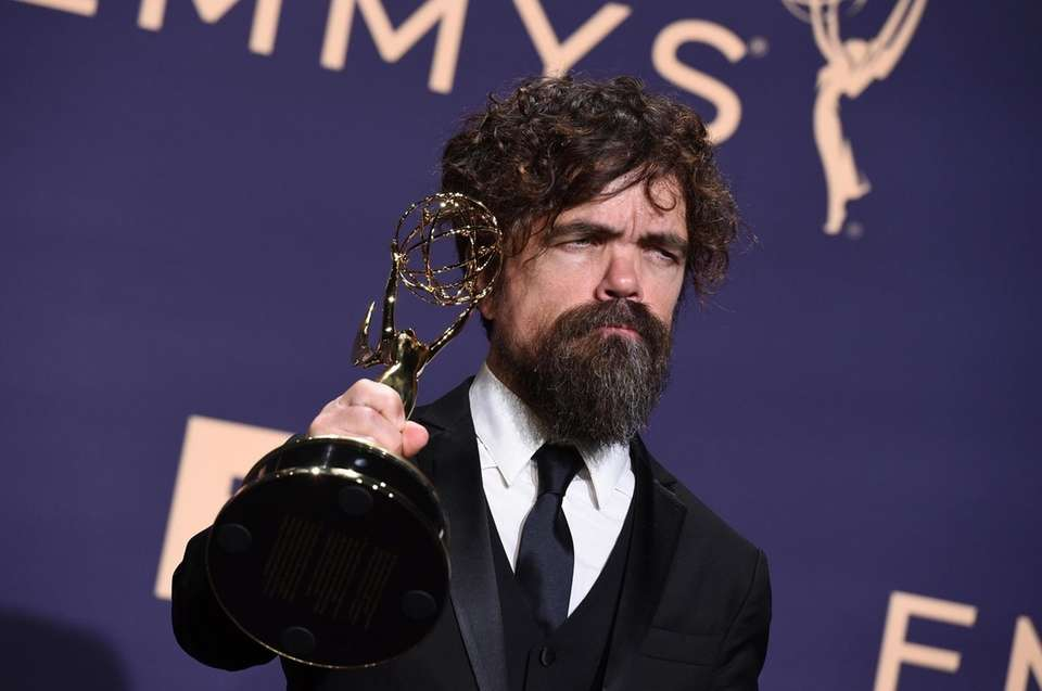 Peter Dinklage, winner of the awards for outstanding