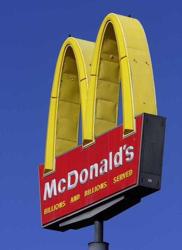 A McDonald's restaurant in Springfield, Ill. The company