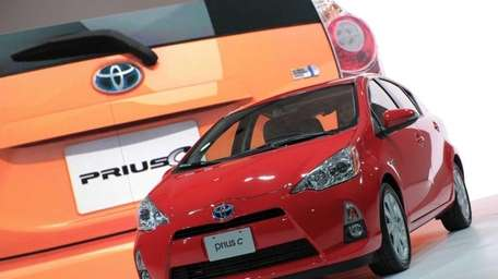 The Toyota Prius c is the smallest