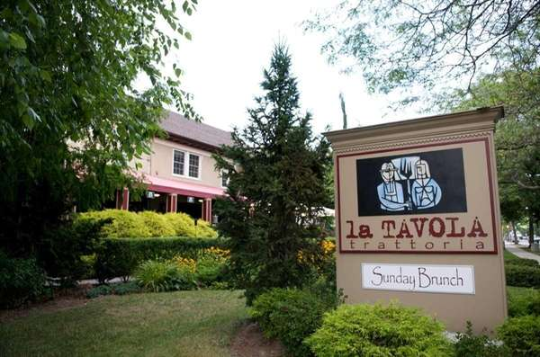 Sayville's La Tavola is on Main Street.