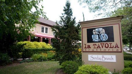 Sayville's La Tavola is on Main Street.
